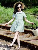 女童蓬蓬裙洋裝 女童裙子2019新款連身裙兒童夏裝洋氣小女孩公主裙蓬蓬純棉潮童裝 小宅女