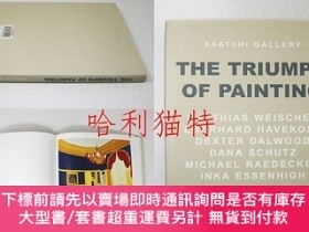 二手書博民逛書店The罕見Triumph of Painting:Saatchi GalleryY403949 KOENIG