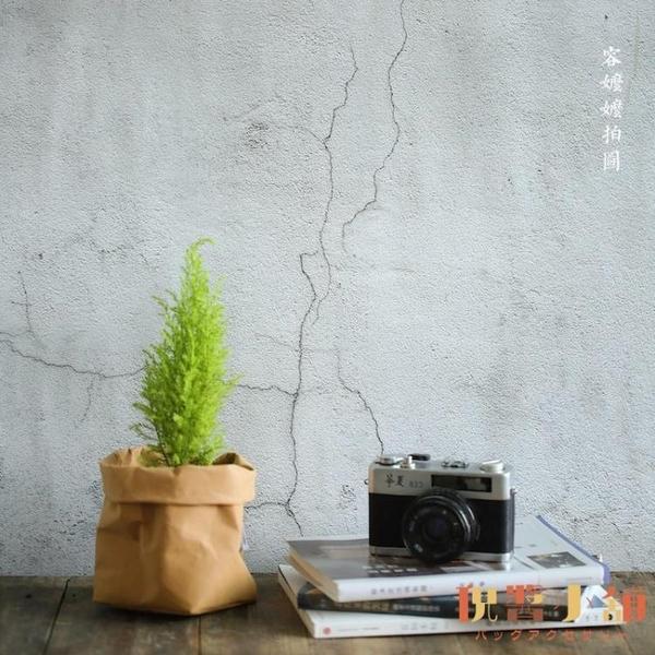 買1送1 水泥墻木紋布板大理石紋烘培擺件美食攝影板拍照道具背景紙【倪醬小舖】