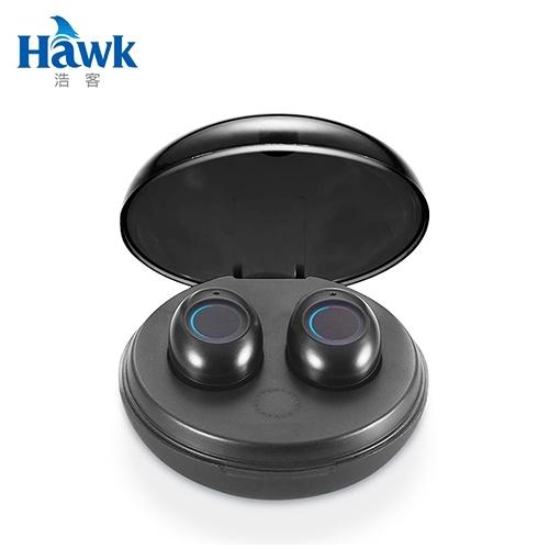 【Hawk 浩客】W4 真無線藍牙5.0耳機麥克風