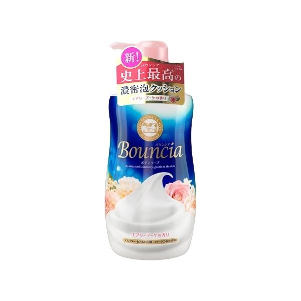 牛乳石鹼 COW Bouncia牛乳香浴乳(愉悅花香)500ml【小三美日】