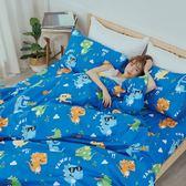 [SN]#U099#細磨毛天絲絨5x6.2尺標準雙人床包+枕套三件組-台灣製(不含被套)