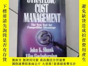 二手書博民逛書店strategic罕見cost management【24開英文原版如圖實物圖】Y4953 john k.sh