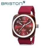 BRISTON 手錶 原廠總代理15240 SA T 8 NBDX 紅色 前衛設計 時尚帆布錶帶 男女 生日情人節禮物