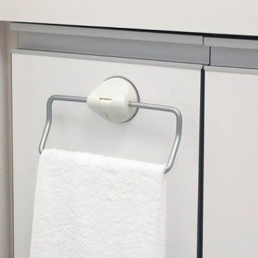 日本LEC鋁合金吸盤毛巾架(DELI設計獎賞)