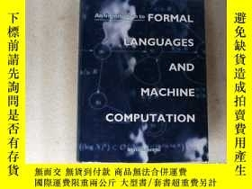 二手書博民逛書店AN罕見INTRODUCTION TO FORMAL LANGUAGES AND MACHINE COMPUTAT