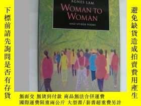 二手書博民逛書店WOMAN罕見TO WOMAN AND OTHER POEMSY