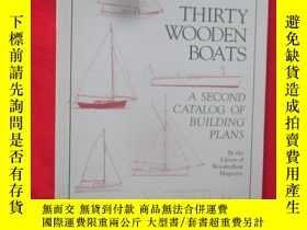 二手書博民逛書店Thirty罕見Wooden Boats (大16開 ) 【詳見