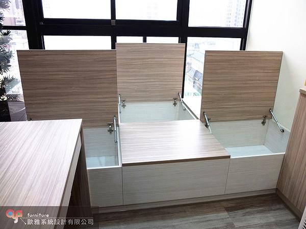 【歐雅系統家具】系統家具 /免費丈量/系統沙發座椅/和室設計/原價60592特價42415