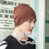 套頭男韓版化療夏季月子帽棉包頭女薄款SMY6509【極致男人】