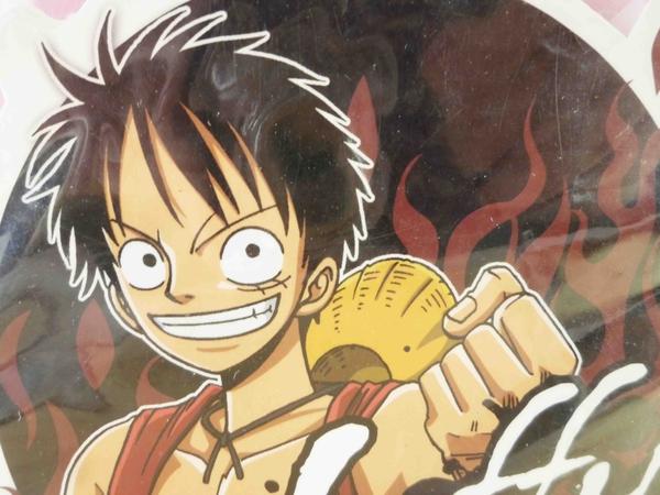 【震撼精品百貨】One Piece_海賊王~造型貼紙-魯夫
