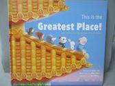 【書寶二手書T7/少年童書_ZAE】This Is the Greatest Place!-The Forbidden