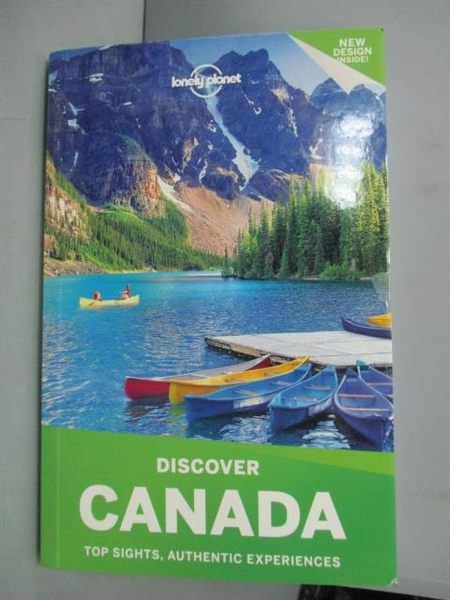 【書寶二手書T3/地理_GPY】Lonely Planet Discover Canada_Miller, Korina