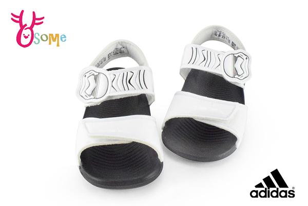adidas小童涼鞋 星際大戰聯名款 限量版 防水涼鞋I6799#白色◆OSOME奧森鞋業