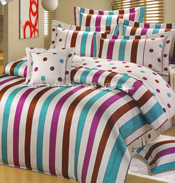 *睡美人寢具工坊*《台灣精品.簡單生活-灰》三件式雙人鋪棉床包【鋪棉床包+枕套*2】5*6.2