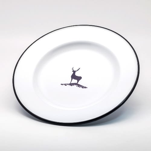 野餐盤-emalco森林之鹿琺瑯不銹鋼餐盤一入