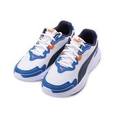 PUMA 90S RUNNER NU WAVE 復古休閒跑鞋 白藍橘 373017-03 男鞋