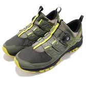 Asics 越野慢跑鞋 Gel-FujiRado 墨綠 黑 黃 男鞋 無鞋帶旋鈕設計 【PUMP306】 T7F2N-8189