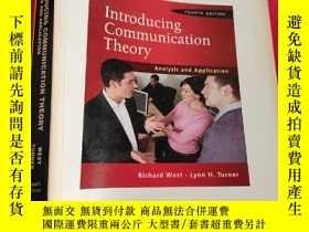 二手書博民逛書店Introducing罕見Communication Theory Analysis and Applicatio
