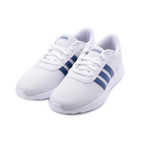 ADIDAS NEO LITE RACER 休閒運動鞋 白藍 FZ1293 男鞋