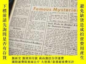 二手書博民逛書店FAMOUS罕見MYSTERIESY9837 出版1955