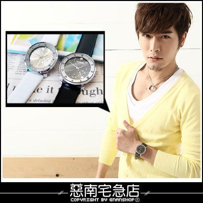 惡南宅急店【0101F】韓版日韓系列男女用『北極星盤錶款』可當情侶對錶。單款區