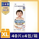 滿意寶寶 日本白金極上呵護 紙尿褲/尿布XL(40片X4包/箱)-箱購