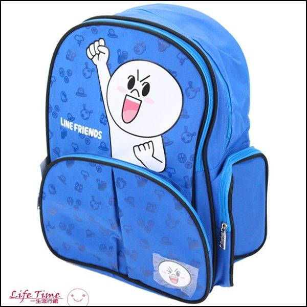 LINE 正版 熊大 兔兔 饅頭人 EVA 透氣書包 後背包 C07022