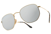 RayBan 太陽眼鏡 RB3548N 00130 (金-白水銀綠) 超夯新品墨鏡 # 金橘眼鏡