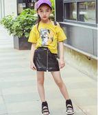 女童時尚涼鞋夏季新款韓版兒童運動中大童公主白色鞋子女童鞋 小確幸生活館
