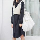 帆布袋 素色 薄款 抽繩 帆布袋 單肩包 環保購物袋--手提/單肩【SPG01】 ENTER  07/19