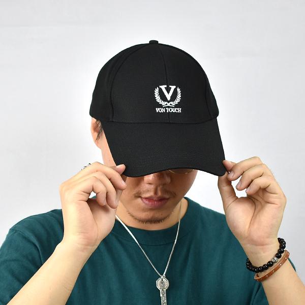 老帽 簡約V字素色棒球帽NHA50
