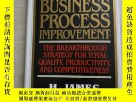 二手書博民逛書店Business罕見Process Improvement180