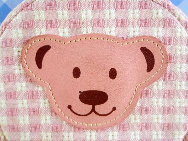 【震撼精品百貨】日本MILK TEDDY BEAR-零錢包-粉色
