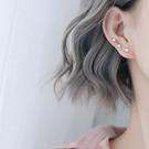 耳環 個性 星星 曲線 拼接 清新 甜美 氣質 耳線 耳環 【SE692】 BOBI  3/27