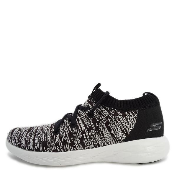 Skechers Go Run 600-Utilize [15070BKW] 女鞋 運動 慢跑 休閒 輕量 舒適 襪套