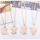 [Z-MO鈦鋼屋]12生肖鈦鋼項鍊/可愛動物/獨家販售/特別項鍊/單條價AS-19