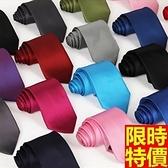 領帶 男士配件(任兩條)-單色斜紋百搭休閒手打領帶24色69d3【巴黎精品】