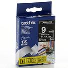 【奇奇文具】兄弟牌Brother TZe-325黑底白字9mmX8M標籤帶