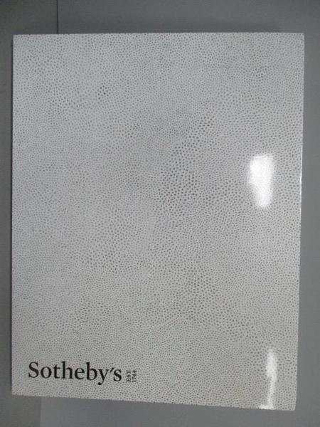 【書寶二手書T6/收藏_EV8】Sotheby s_Contemporary Art Afternoon..2017/5