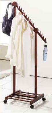 【南洋風休閒傢俱】臥室系列-奧利多實木衣架 實木西裝架 掛衣架 衣帽架 757-7 AR-896