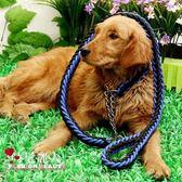 中大型犬狗鏈子拉布拉多哈士奇牽引繩遛狗繩項圈寵物用品  全店88折特惠