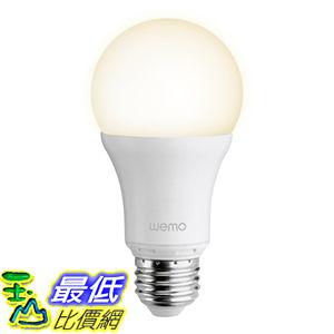 [104美國直購] 美國貝爾金 Belkin WeMo Smart LED Bulb 智慧型燈泡 電燈 燈具 $1627
