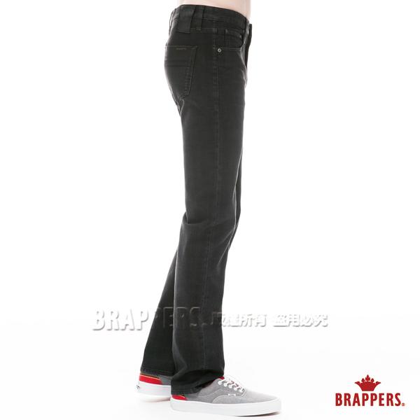 BRAPPERS 男款 HG紳士版系列-高腰彈性直筒褲-黑