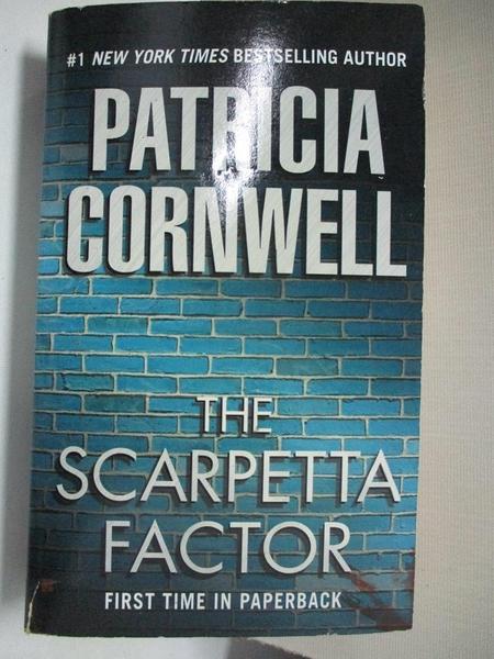【書寶二手書T3/原文小說_A6N】The Scarpetta Factor_Patricia Cornwell