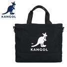 【橘子包包館】KANGOL 英國袋鼠 側背包 斜背包 手提包 61251709 黑色 灰色