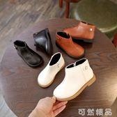 秋韓版女童靴子短靴單靴皮靴男童鞋寶寶鞋單鞋皮鞋兒童馬丁靴   聖誕節快樂購