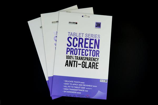 【Mars】3H 霧面防指紋 Apple iPad AIR平板 防刮螢幕保護貼 單面 提供多型號