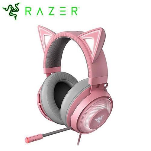 Razer 雷蛇 北海巨妖 發光電競耳機麥克風 Kitty