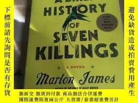 二手書博民逛書店ABRIEF罕見HISTORY OF SEVEN KILLING